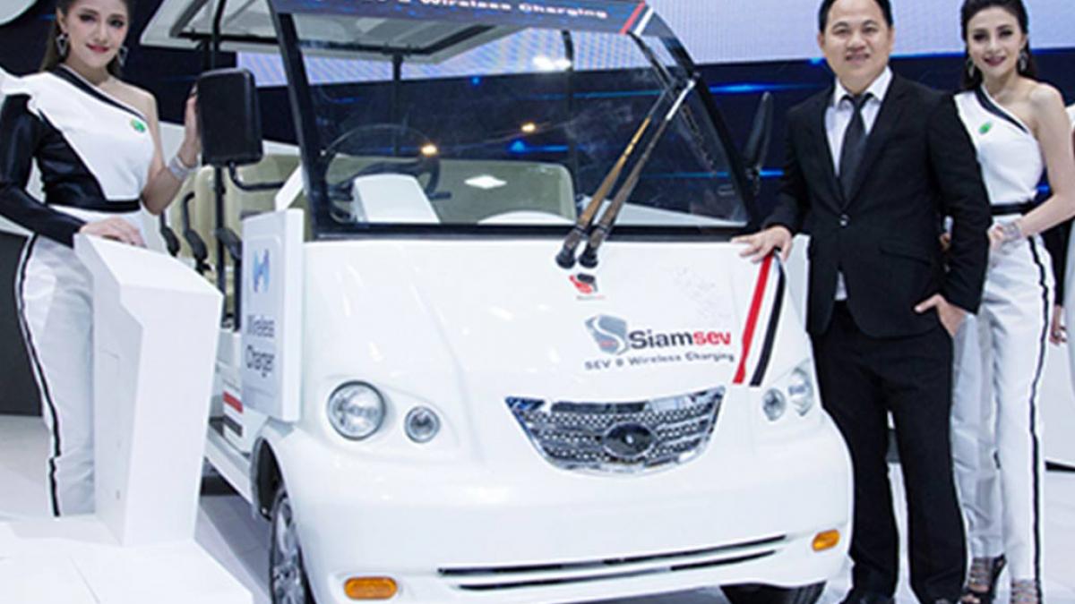 รถกอล์ฟไฟฟ้า-พลังงานแสงอาทิตย์